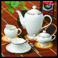 Buy cheap hotsale 15pcs bone china gold design tea set from wholesalers