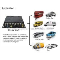 Buy cheap High Definition 4G Mobile DVR With GPS , Automotive Dvr Recorder 4 Channel Industrial Level from wholesalers
