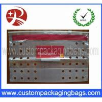 Buy cheap PE Transparent Fruit Packaging Bags Resealable Slider With Air Holes from wholesalers