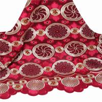 Buy cheap 2016 Hot selling embroidery design london swiss lace fabric for nigerian wedding dress from wholesalers