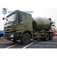 Buy cheap 6X4 Beiben 5 M3 Military Concrete Mixer Truck With Mercedes Benz Technology from wholesalers