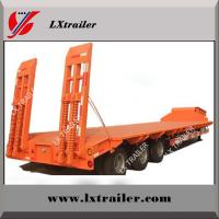 Buy cheap Tri Axles Flatbed Long Trailer made from China manufacturing company from wholesalers