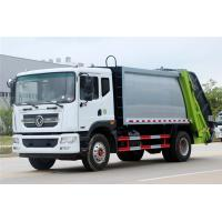 China Compressed Garbage Truck Dongfeng 12CBM Carbon Steel Garbage Truck For Sale on sale