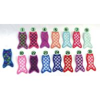 Buy cheap New Design Summer Monogram Mermaid Popsicle Holder .Material is neoprene , size for free, Any color is ok from wholesalers