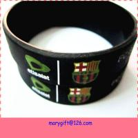 Buy cheap custom logo size design cheap promotional items china personalized silicone wristbands from wholesalers