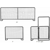 Buy cheap height 1800mm Welded Wire Mesh Pipe Fence Gate from wholesalers
