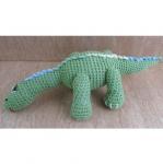 Buy cheap Dinosaur Dragon Hand Knit Crochet Stuffed Animal Toy Photo Prop from wholesalers