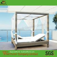 Buy cheap PE Wicker Rattan Sun Lounger, Outdoor Daybed, Rattan Garden Furniture, from wholesalers