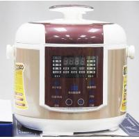 Buy cheap touch switch panel electric pressure cooker with detachable plastic upper cover from wholesalers