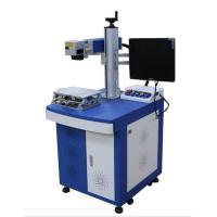 Buy cheap Expiry Date Marking Laser Marking Equipment 20w Desktop With Conveyer Belt from wholesalers