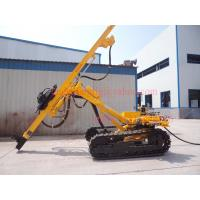 Buy cheap Top Hammer Rock Drilling Rig With Highly Efficient Pneumatic Motor Driven from wholesalers