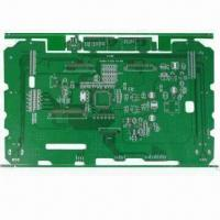 Buy cheap 6-layered PCB with HASL Lead Free Finish for Vehicle Pane, 70um Copper thickness, 0.5mm Aperture from wholesalers