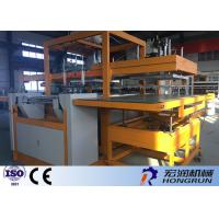 Buy cheap Heat Preservation Thermocol Plate Making Machine Integrate Forming / Cutting product