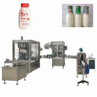Buy cheap Plastic / Glass Bottle Automatic Liquid Filling Machine Used For Beverage / Food / Medical from wholesalers