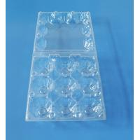 Buy cheap Factory Price wholesale Custom Clear Trasparent Blister Plastic Egg Tray from wholesalers