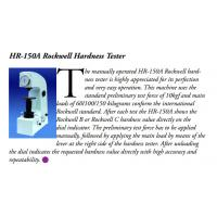 Buy cheap HR-150A Rockwell Hardness Tester ASTM E18 Standard Measuring 20 - 88HRA , 20 - 100HRB from wholesalers