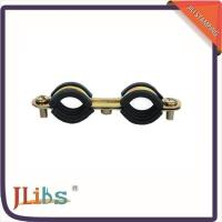 Buy cheap High Temp M6 Suspension Clips Double Ring Clamp , Rubber Tube Clamps from wholesalers