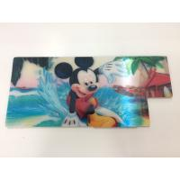 Buy cheap Customized Shape Die Cutting PP 3D Lenticular Stickers For Pencil Case ISO9001:2008 product