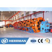 Buy cheap High Speed Cage Type Cable Stranding Machine For Overhead Conductor And Steel Wire product