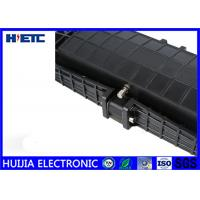 Buy cheap Black IP68 Fiber Optic Closure / Fiber Enclosure Box Corrosion Resistance product