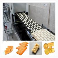 Buy cheap Stainless Steel Gas Fully Automatic Biscuit Making Machine of Good Quality from wholesalers