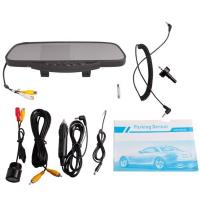 Buy cheap DC 9-15V Car Rear View Mirror With 3.5 Tft And Camera /Dual Stereo Louder Speaker from wholesalers