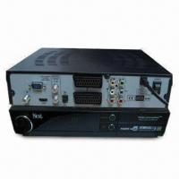 Buy cheap Twin Tuner with Built-in Dongle DVB-S Receiver and 950 to 2150MHz Input Frequency. from wholesalers
