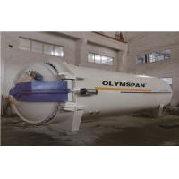 Buy cheap Chemical Laminated Vulcanizing Autoclave Aerated Concrete / Autoclave Machine Φ2m product