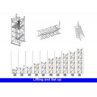 Buy cheap Sturdy Galvanised Steel Frame Type Scaffolding For Highway Bridge Project from wholesalers