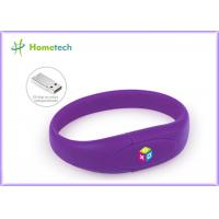 Buy cheap Wrist Band Pen Drive Promotion Wristband Usb Flash Drive Custom Logo Print product