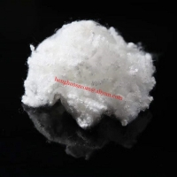 Buy cheap 7D*64mm Hollow Conjugated Siliconized Polyester Fiber For Filling Pillows from wholesalers
