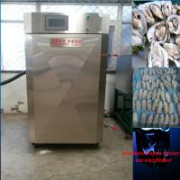 Buy cheap Cabinet quick freezer/liquid nitrogen cooler for fish fillet from wholesalers