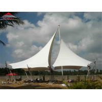 Buy cheap Waterproof Tensile Membrane Structures , Landscape Tension Fabric Buildings from wholesalers