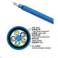 Buy cheap stranded loose tube mining flame-retardant optical fiber cable  for duct from wholesalers
