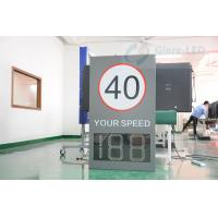 Buy cheap Traffic Radar Speed Limit Signs LED Speed Limit Display from wholesalers