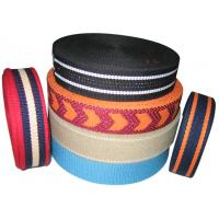 Buy cheap factory supply fabric knitted jacquard webbing strap from wholesalers