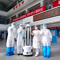Buy cheap Autonomous Medical Disinfection UV Light Robot from wholesalers