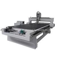 4 Axis CNC Wood Engraving Machine with Rotary Axis Fixed in X-axis
