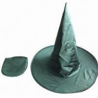 Buy cheap Promotional Nylon Halloween Hats, Customized Patterns are Available from wholesalers