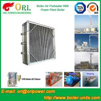 Buy cheap High Temperature Solid Fuel Boiler Steam Air Preheater In Cement Plant from wholesalers