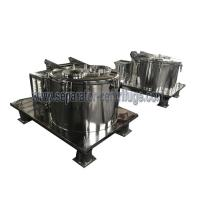 Buy cheap Basket Centrifuge Spin Drying Ethanol Biomass Oil Extraction Machine with plant material from wholesalers