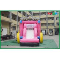 Buy cheap 6 X 4m Commercial Childrens Bouncy Castle Hire Blow Up Bounce House from wholesalers