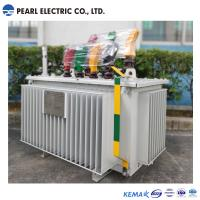 Buy cheap Low Noise Oil Immersed Type Transformer / Three Phase Transformer Copper Winding from wholesalers