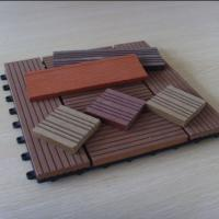Buy cheap Anti - Skid / Anti - Corrosion WPC Deck Tiles With Engineered Flooring Type from wholesalers