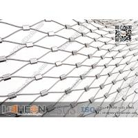 Buy cheap SS316L Ferrule Stainless Steel Wire Rope Mesh | China Decorative Wire Mesh from wholesalers