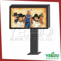 Buy cheap road side Outdoor advertising billboard with scrolling system from wholesalers