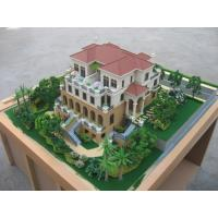 Buy cheap 3D building model , ho scale model making with wood base stand from wholesalers