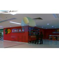 Buy cheap Customized 5D Motion Theater With Movie Motion Chair Seat System product