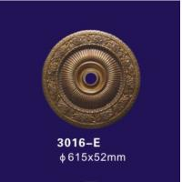 Buy cheap Bronze Color Decorative Ceiling Cover Plate , Polyurethane Ceiling Rose For Home Deco from wholesalers