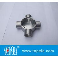 Buy cheap TOPELE BS4568 / BS31 Four Way Terminal Electrical Aluminum Junction Box, Channel Inspection Tee Box product